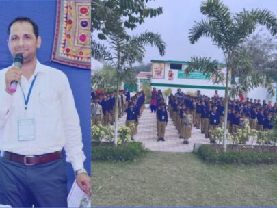 The man who changed a government school in UP (India)