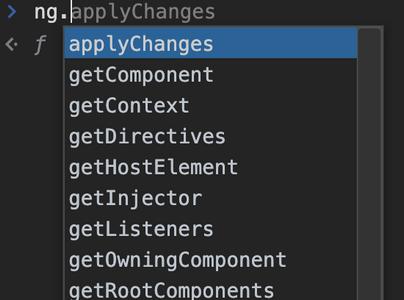 applyChanges in Angular 9