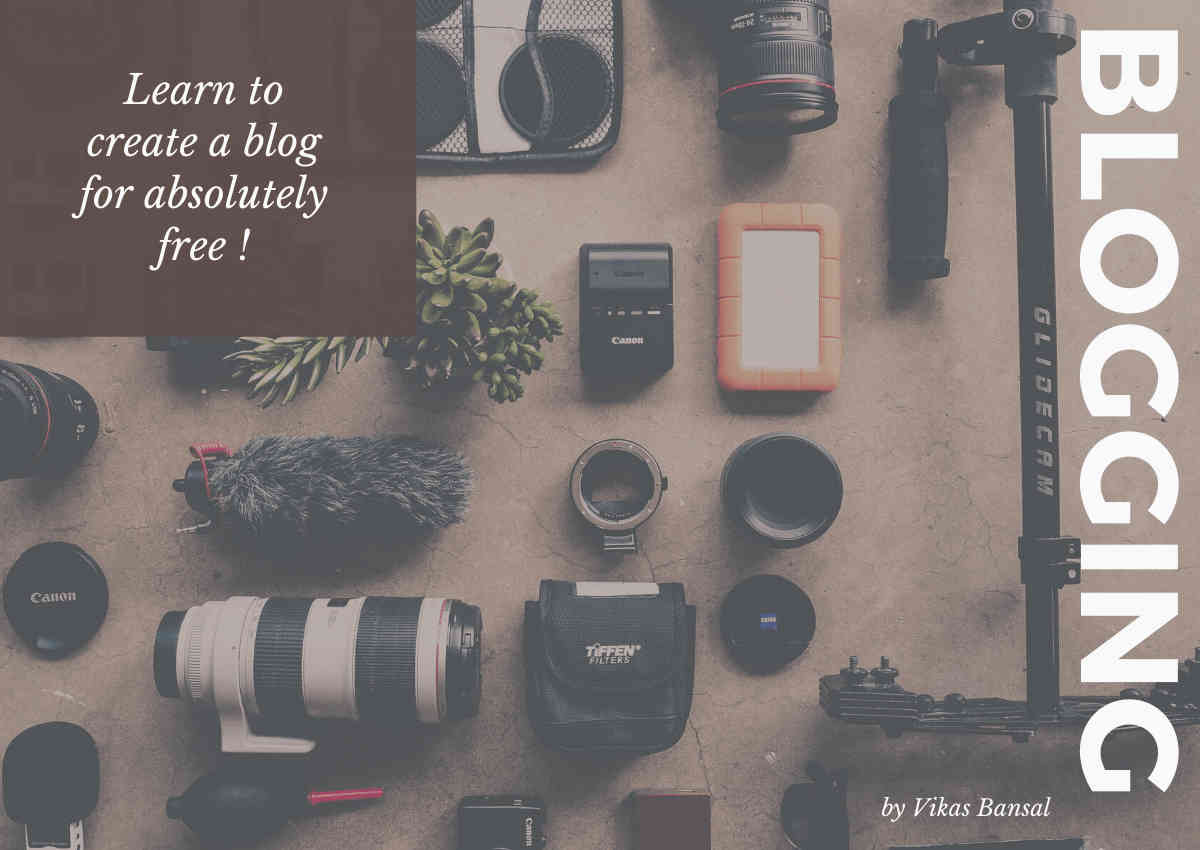 How to create a blog for absolutely free