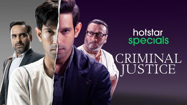 Criminal Justice Web Series
